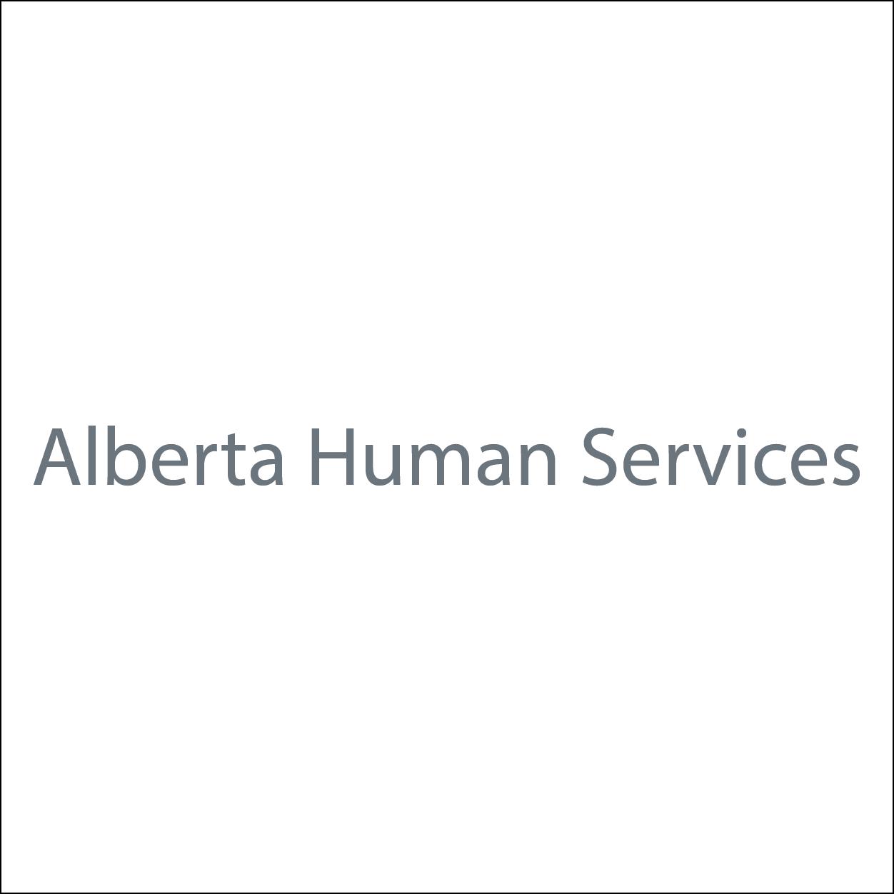 Alberta Human Services