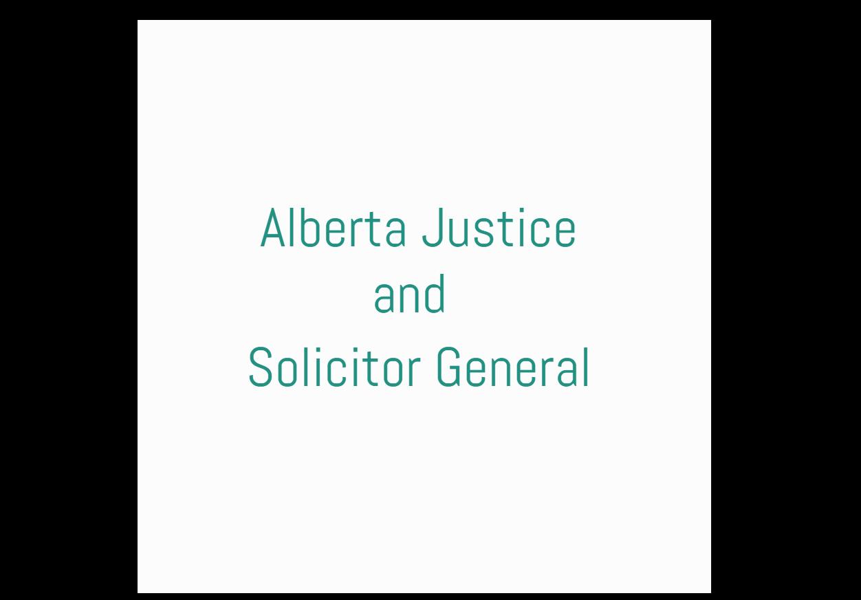 Alberta Justice